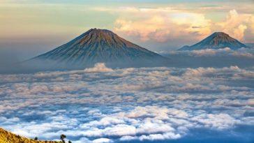 вулкан ява