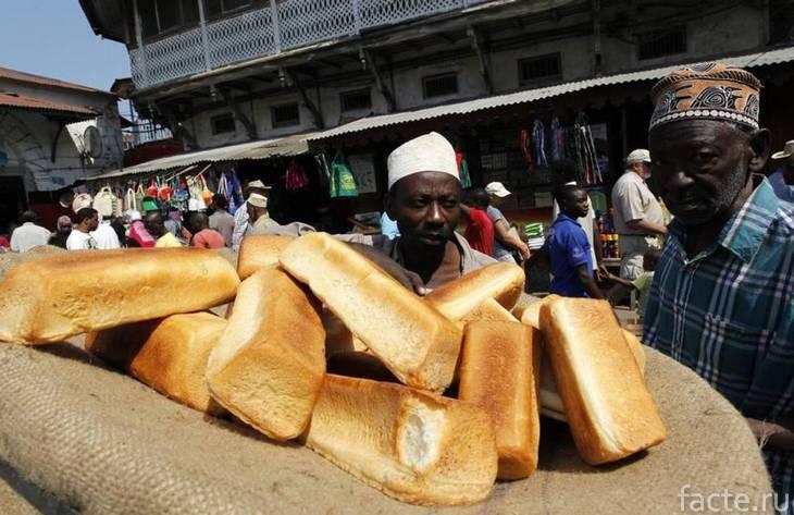 эфиопия хлеб