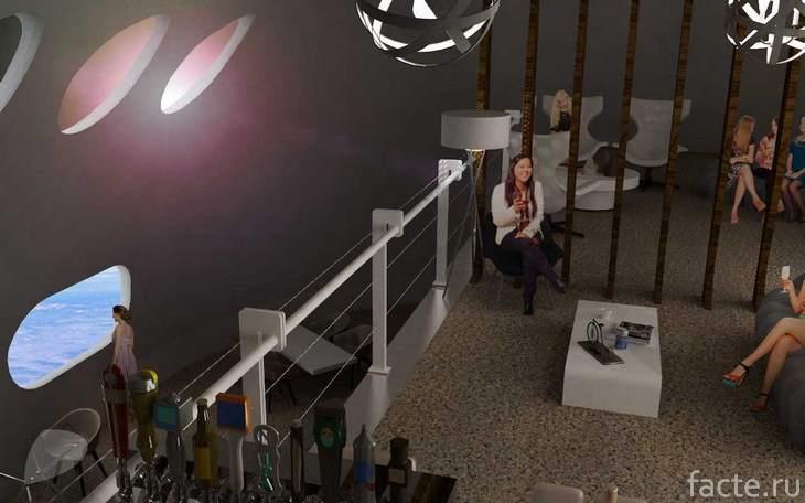 отель в космосе проект