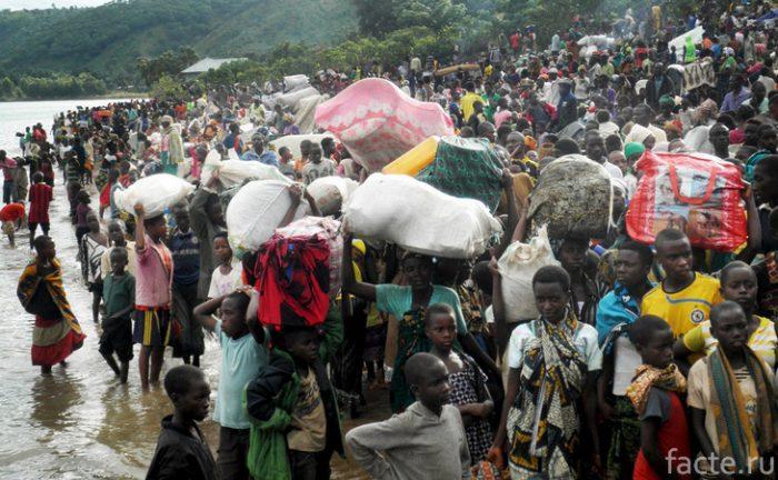 бурунди население