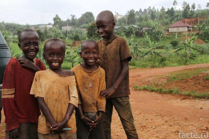 бурунди жители