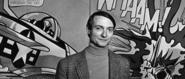 Рой Лихтенштейн портрет