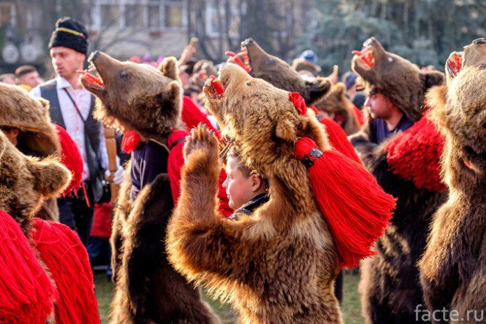 танец медведя