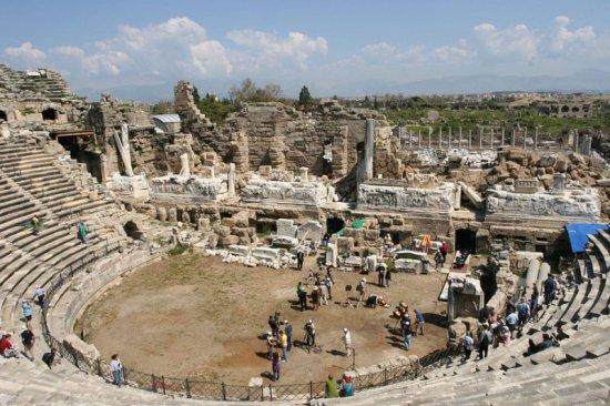 Интересные факты про античный театр
