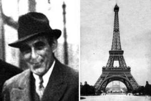 Виктор Люстиг   мошенник, который продал Эйфелеву башню... 2 раза!