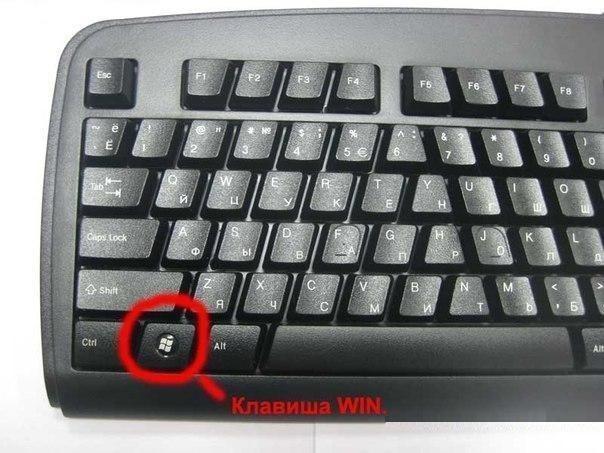 Знали ли Вы насколько полезна клавиша Win на Вашей клавиатуре?