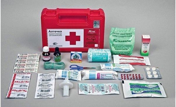 Каким должен быть состав домашней аптечки