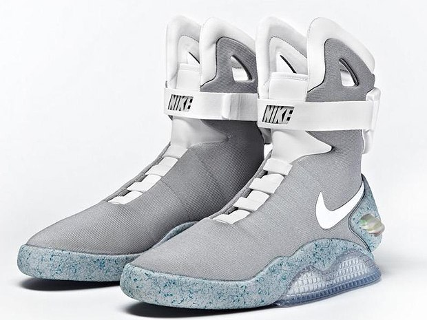 Кроссовки Nike MAG из фильма «Назад в будущее»