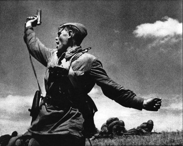 Одно из самых известных фото второй мировой войны
