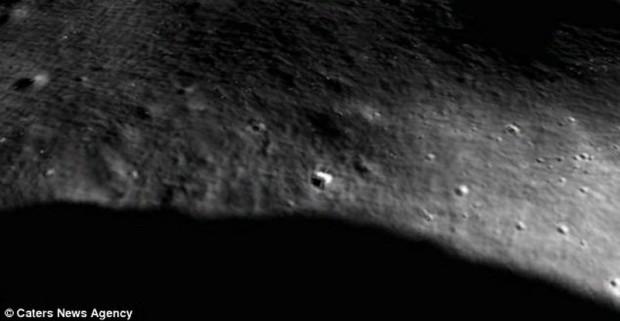 На поверхности Луны обнаружена база пришельцев