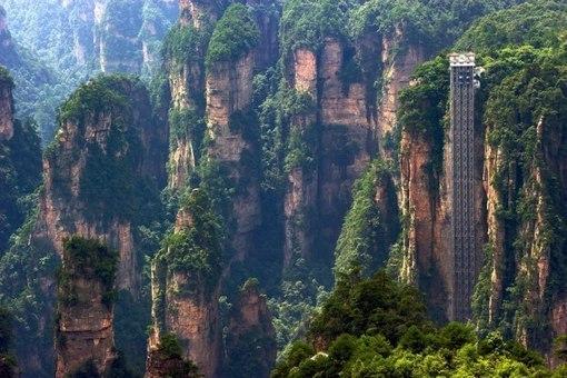 Самый высокий лифт в мире