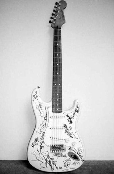 Самые дорогие гитары в мире