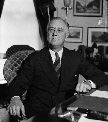 Франклин Делано Рузвельт – Политическая звезда Америки