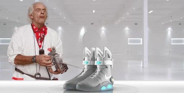 Кроссовки из фильма «Назад в будущее» появятся в 2015 году