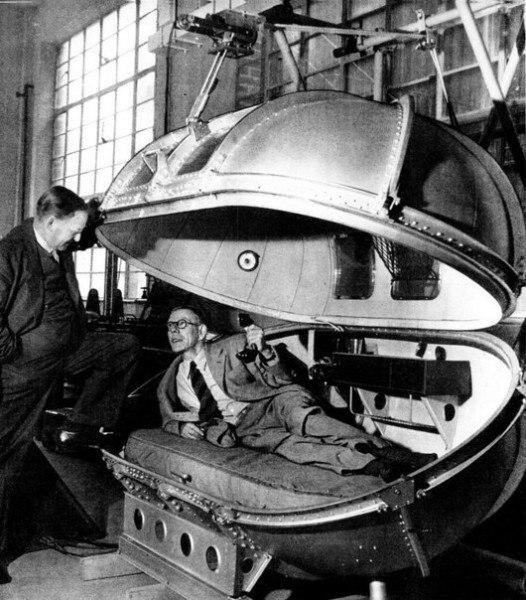 Спецкапсула Уинстона Черчилля, в которой тот путешествовал в самолёте во время войны