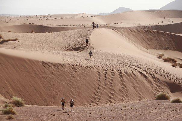 История марафонца, потерявшегося в Сахаре