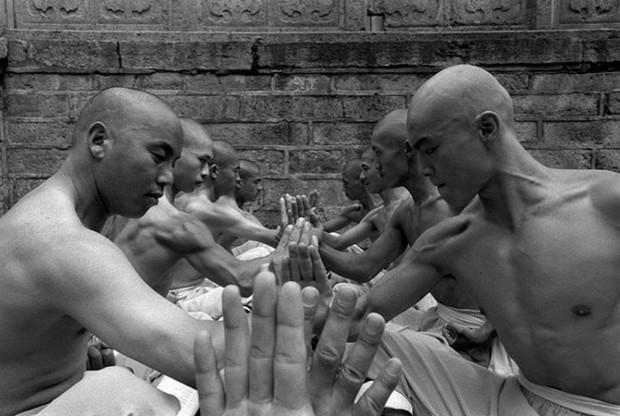 Монахи из Шаолиньского монастыря