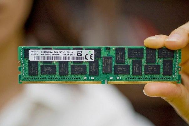 Представлен первый в мире модуль DDR4 на 128 ГБ