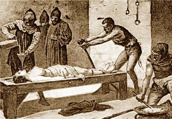 5 самых страшных пыток в истории