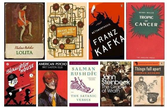 10 самых известных запрещенных книг