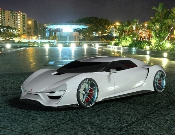 Суперкар Nemesis способна разогнаться до 435 км/ч