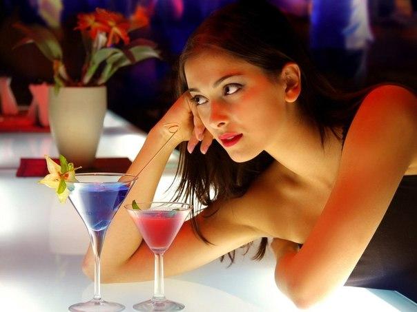 Спиртное и характер женщины