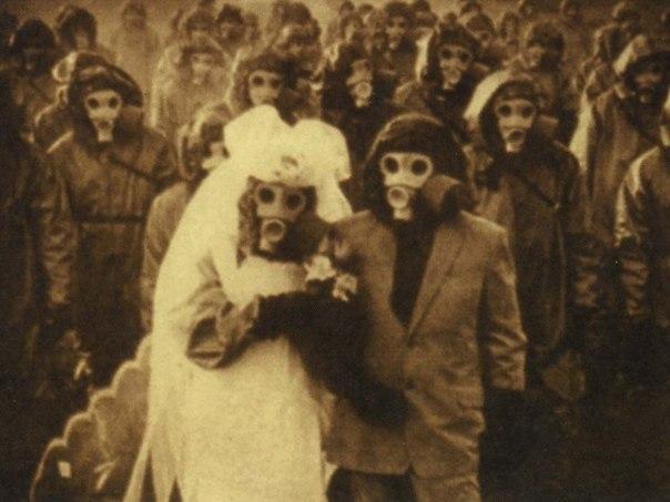 Острова Идзу — свадьба в противогазе