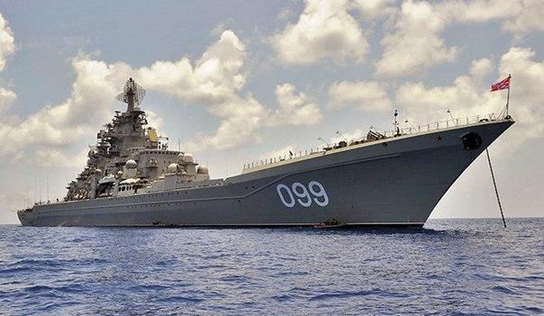 Самый грозный корабль военного-морского флота РФ