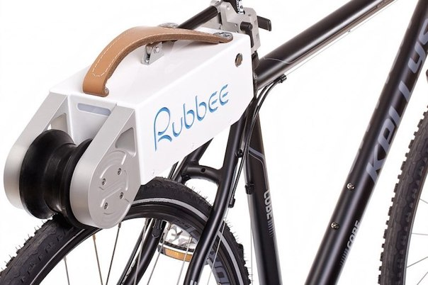 Rubbee 2.0 сделает электровелосипед из обычного байка за несколько секунд