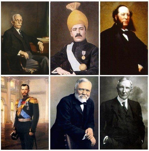 6 самых богатых людей за всю историю