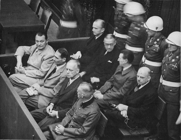 Нюрнбергский процесс или последние слова нацизма