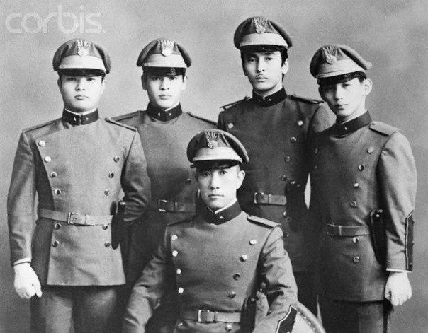 Знаменитое восстание самураев во главе с Юкио Мисима в 1970-м году