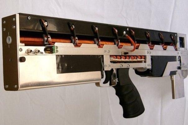 Усовершенствованная автоматическая винтовка Гаусса