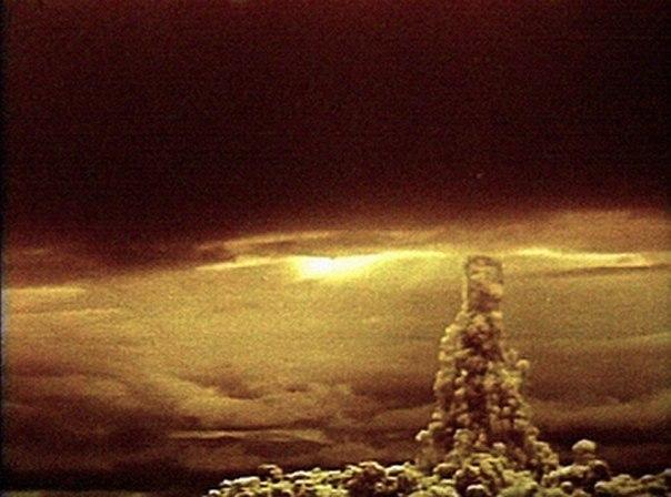 Взрыв самой мощной ядерной бомбы