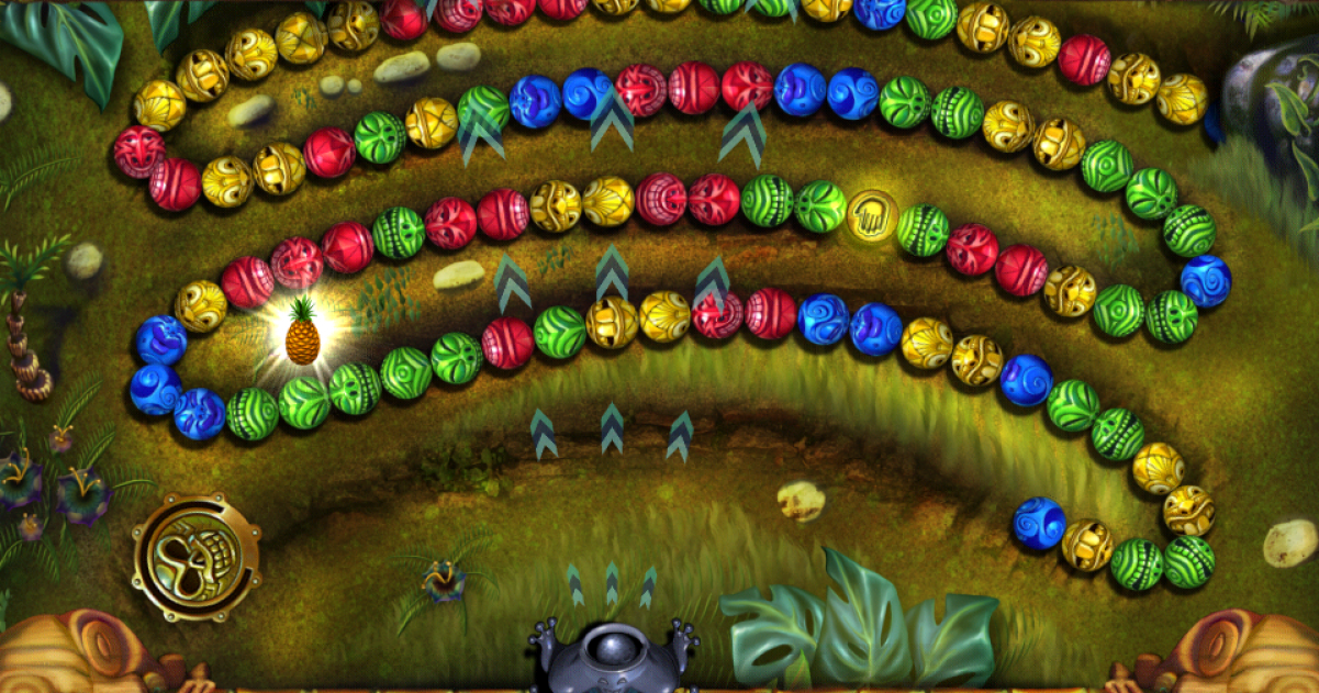 Zuma Deluxe - Free PC Download Game at Pogo
