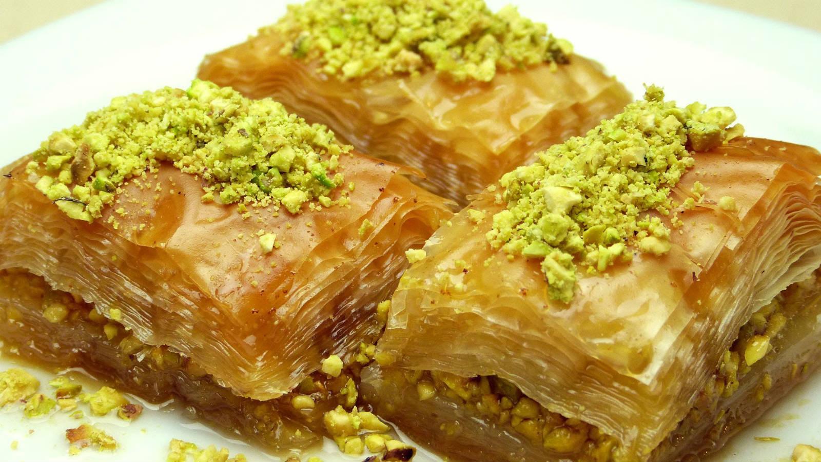 Рецепт бакинской пахлавы с пошаговым фото